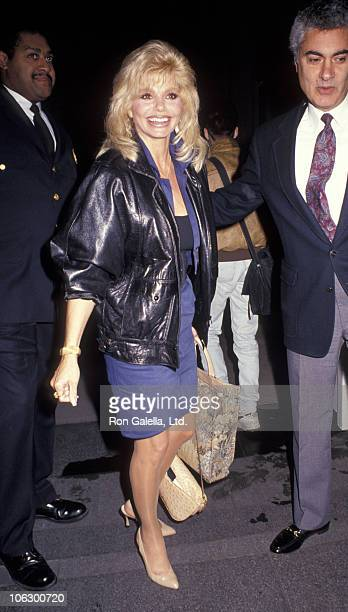 Loni Anderson during Loni Anderson Sighting at The Carlyle Hotel in New York City October 21 1991 at Carlyle Hotel in New York City New York United...