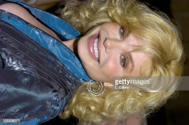 Loni Anderson during 'Mamma Mia' Los Angeles Premiere Red Carpet at Pantages Theatre in Hollywood California United States