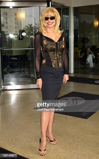 Loni Anderson during Television Critics Association UPN Day Arrivals at Renissance Hotel in Hollywood California United States