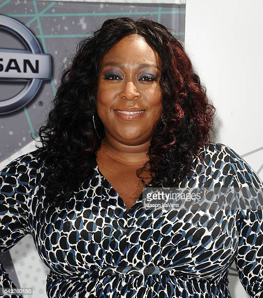Loni Love attends the 2016 BET Awards at Microsoft Theater on June 26 2016 in Los Angeles California