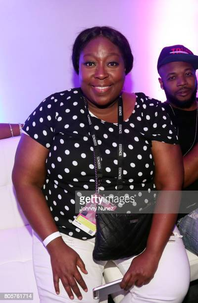 Loni Love attends the 2017 Essence Festival on July 2 2017 in New Orleans Louisiana
