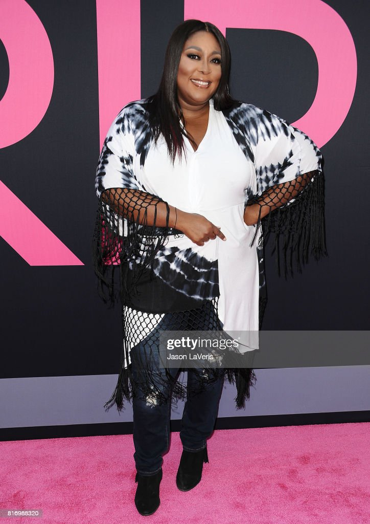 Loni Love attends the premiere of 'Girls Trip' at Regal LA Live Stadium 14 on July 13, 2017 in Los Angeles, California.