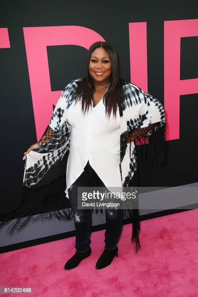 Loni Love attends the premiere of Universal Pictures' 'Girls Trip' at Regal LA Live Stadium 14 on July 13 2017 in Los Angeles California