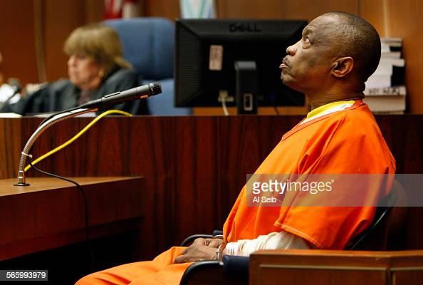 Lonnie Franklin Jr who authorities say was the 'Grim Sleeper' serial killer linked to the killings of more than a dozen women in South Los Angeles...