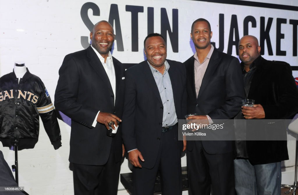 Lonnie Young, Ray Taylor, Paul Bobbit and Ureal Vinson attend Starter Parlor - Super Bowl XLVII on February 2, 2013 in New Orleans, Louisiana.