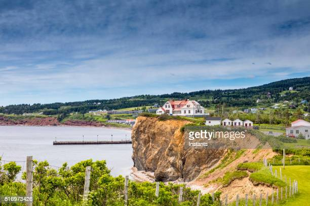 A look at houses in Percé, part of the Gaspé peninsula in Québec.