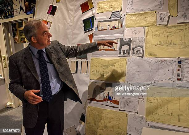 A look at the east wing of the National Gallery of Art before its' reopening on September 2016 in Washington DC Pictured Mark Leithauser Chief of...