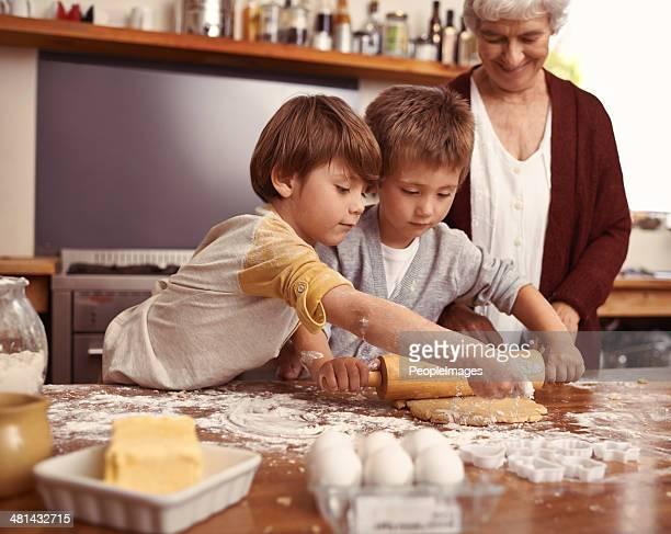 Look gran, wir damit die cookies selbst!
