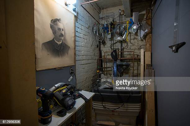 TORONTO ON AUGUST 12 A look into the home studio of Constantine Tohme a young Toronto based artist and designer of lighting fixtures home accessories...