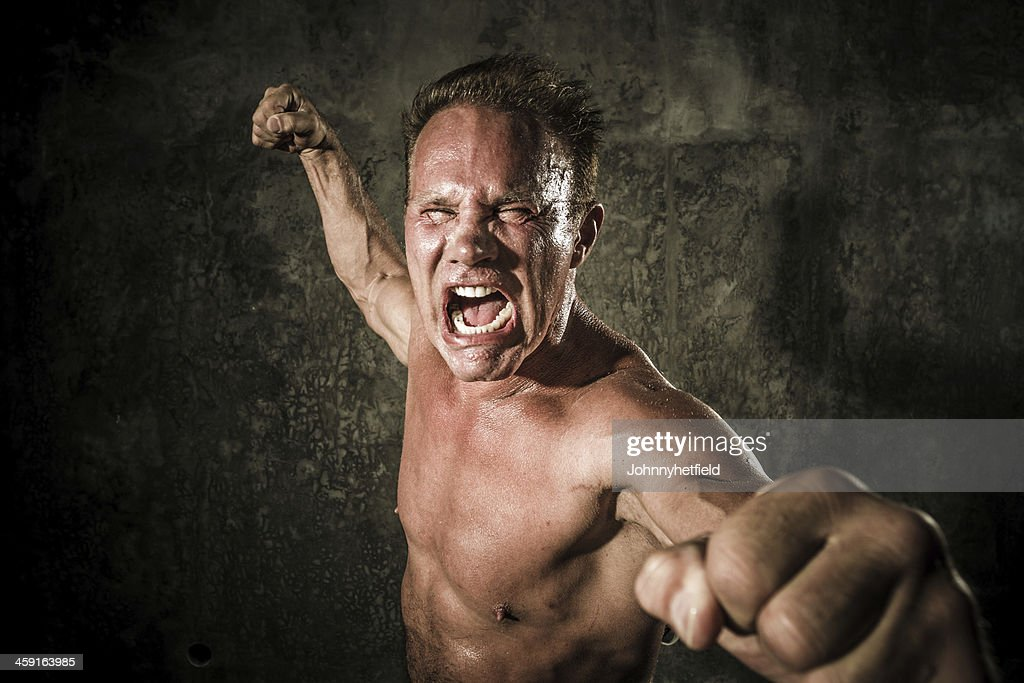 Look out I'm mad : Stock Photo