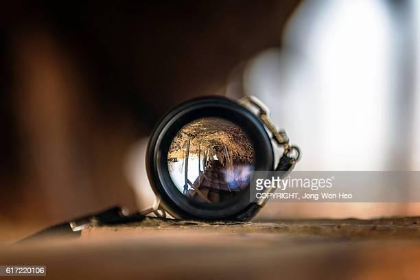 A look through the convex lens