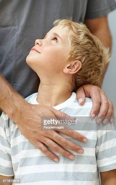 """J """"admire mes parents :  mon père."""