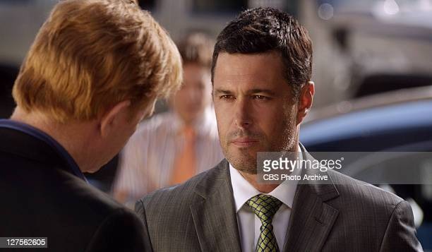 'Look Who's Taunting' The team chases a sadistic killer who takes women's eyes and a new nemesis challenges Horatio on CSI MIAMI Sunday Oct 16 on the...