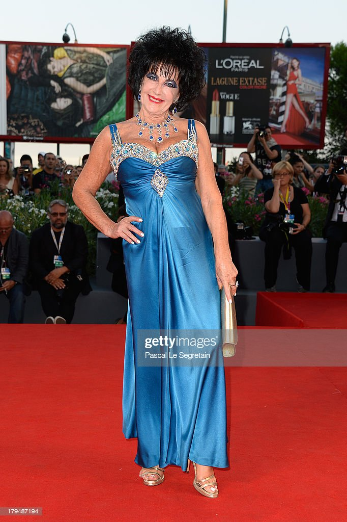 Look-a-like Elizabeth Taylor, Marina Castelnuovo attends 'L'Intrepido' Premiere during the 70th Venice International Film Festival at the Palazzo del Cinema on September 4, 2013 in Venice, Italy.