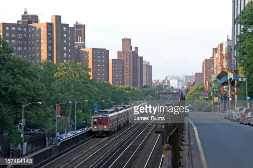 Lookin north towards Harlem