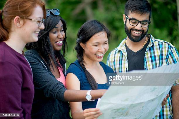 Looking at a Map Together