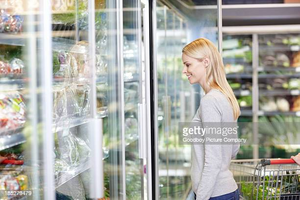 Looking at a multitude of healthy food