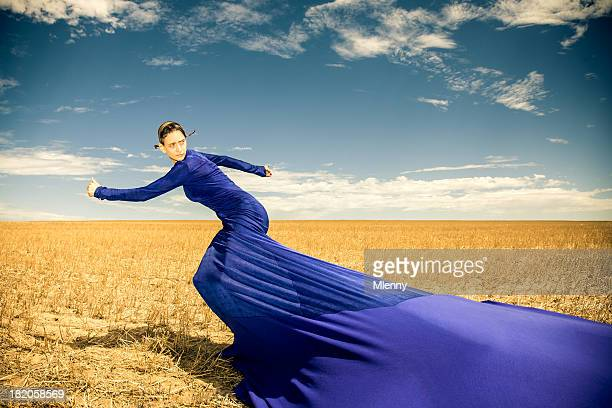 Looking Back In Motion, Women Surreal Fashion