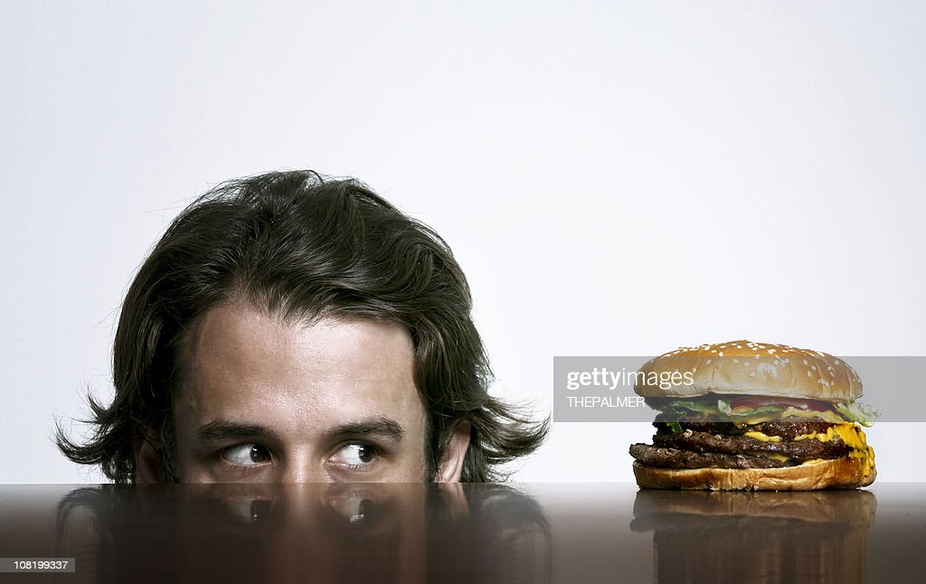 looking for food : Stock Photo