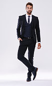 Studio shot of a handsome and well-dressed young manhttp://195.154.178.81/DATA/shoots/ic_784174.jpg