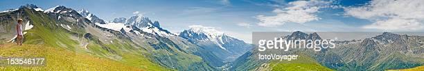 Über den Mont Blanc, Chamonix