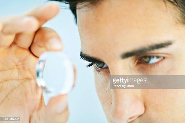 Looking through a lens