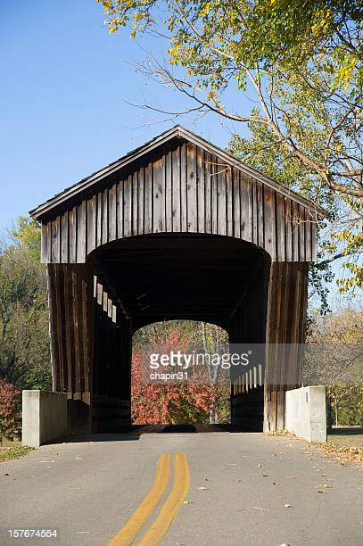 Looking Through the Brownsville Covered Bridge
