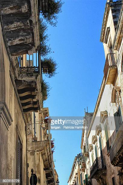Looking upwards in Lecce