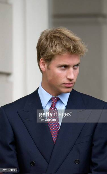 Looking Very Handsome Prince William At Clarence House For His Greatgrandmother's 101st Birthday Portrait