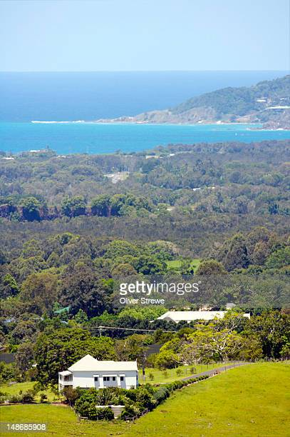 Lookout over Byron Bay.