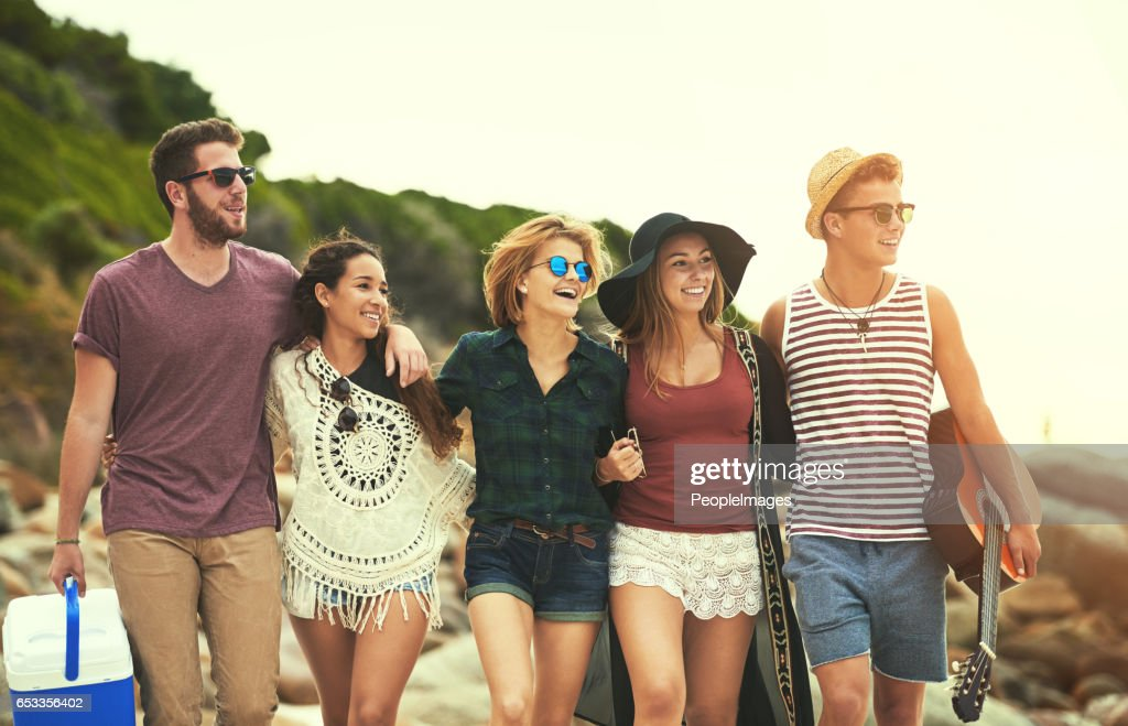 Looks like a big beach day : Stock Photo