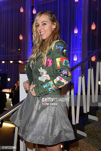 Loona attends the Echo Award 2016 after show party on April 07 2016 in Berlin Germany