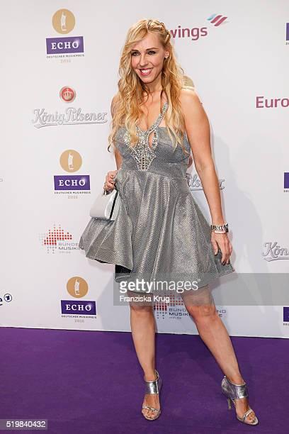 Loona attends the Koenig Pilsener At Echo Award 2016 on April 07 2016 in Berlin Germany