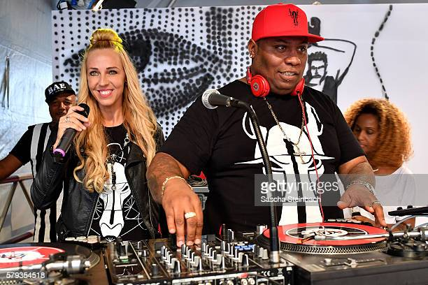 Loona performs during day 2 of the Streetstyle@Gallery event at Areal Boehler on July 23 2016 in Duesseldorf Germany