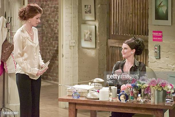 WILL GRACE 'Loose Lips Sink Relationships' Episode 5 Aired Pictured Debra Messing as Grace Adler Megan Mullally as Karen Walker Photo by Chris...