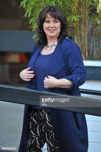 Loose Women presenter Coleen Nolan seen at the ITV Studios on February 13 2017 in London England