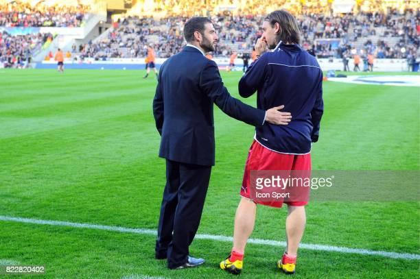 Lopez / Fernando CAVENAGHI Bordeaux / Lyon 1/4 de finale retour Champions League Stade Chaban Delmas Bordeaux