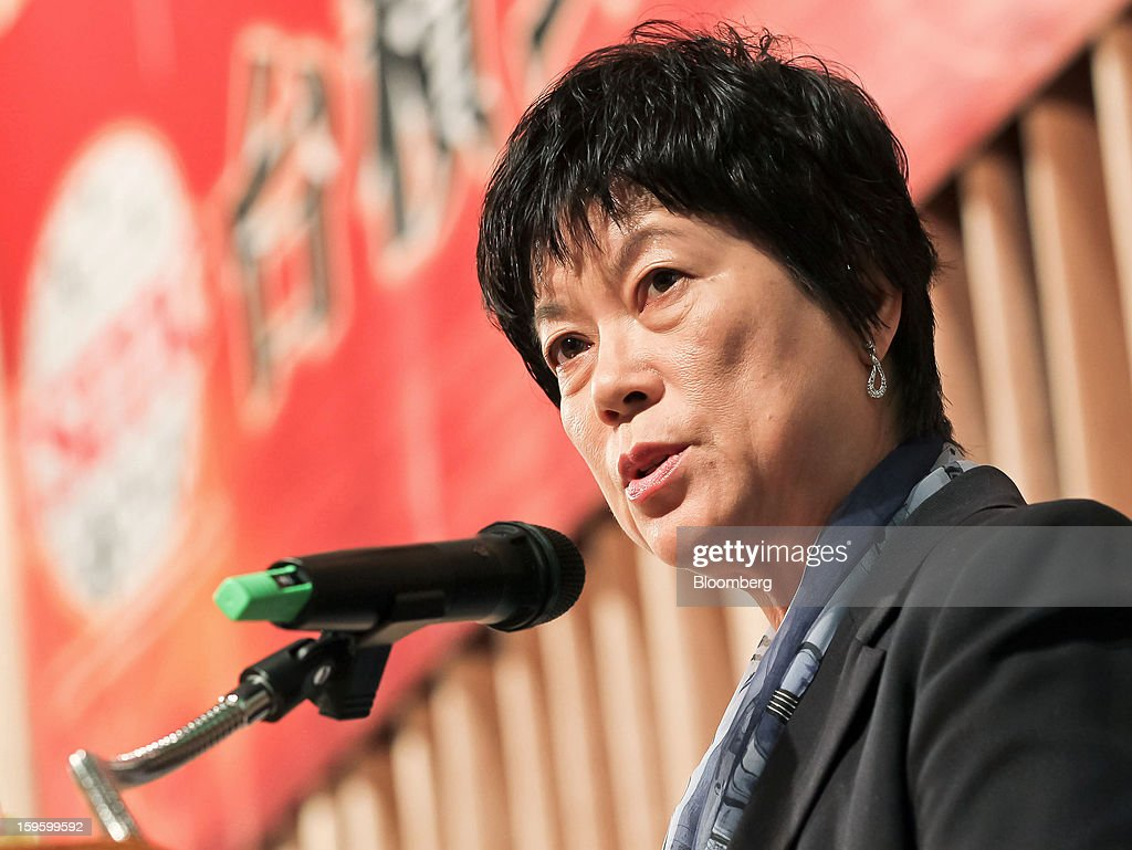 Lora Ho, chief financial officer of Taiwan Semiconductor Manufacturing Co. (TSMC), speaks during a news conference in Taipei, Taiwan, on Thursday, Jan. 17, 2013. Taiwan Semiconductor Manufacturing Co., the world's largest contract producer of chips, forecast sales surpassing analysts' estimates as demand for components used in phones and tablets continues to outstrip expectations. Photographer: Maurice Tsai/Bloomberg via Getty Images