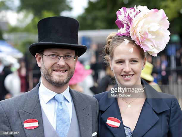 Lord And Lady Nicholas Windsor At Royal Ascot On The Final Day Of The 2009 Meeting