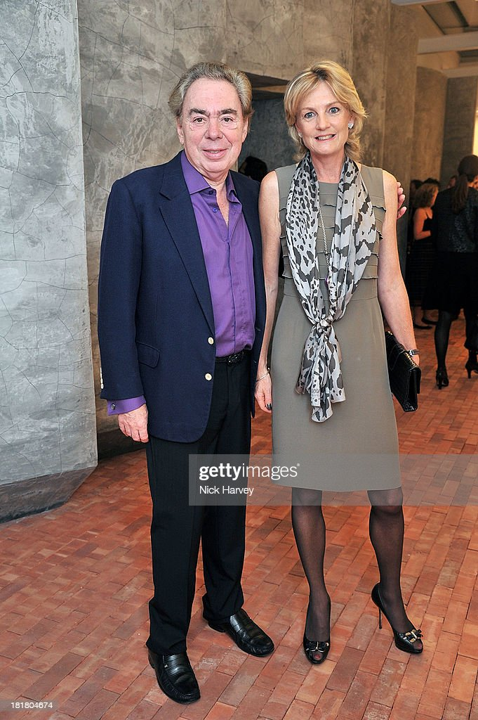 Lord <a gi-track='captionPersonalityLinkClicked' href=/galleries/search?phrase=Andrew+Lloyd+Webber&family=editorial&specificpeople=157705 ng-click='$event.stopPropagation()'>Andrew Lloyd Webber</a> and Lady Madeleine Lloyd Webber attends the VIP opening of The Serpentine Sackler Gallery & Autumn Exhibitions at The Serpentine Sackler Gallery on September 25, 2013 in London, England. (Photo by Nick Harvey/WireImage)2