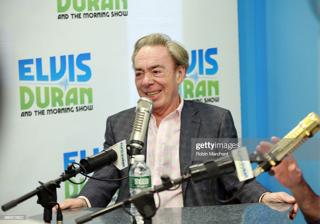 Lord Andrew Lloyd Webber visits at Z100 Studio on October 12, 2017 in New York City.