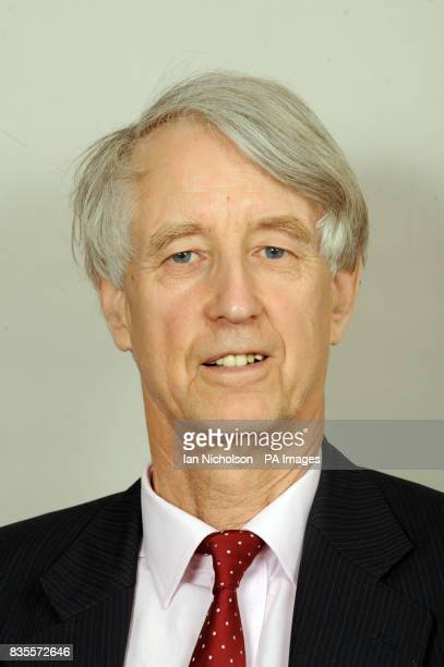 Lord Baldwin of Bewdley is photographed in the Houses of Parliament in London
