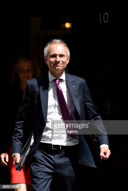 Lord Chancellor and Secretary of State for Justice David Lidington departs Downing Street on June 13 2017 in London United Kingdom The Prime Minister...