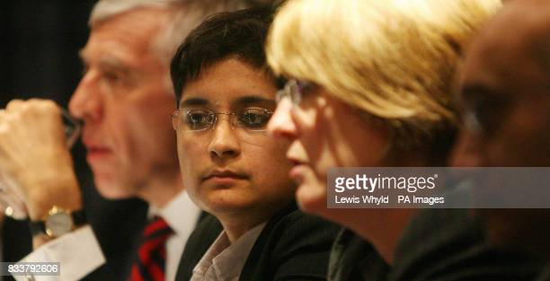 Lord Chancellor and Secretary of State for Justice Jack Straw Liberty Director Shami Chakrabarti Home Secretary Jacqui Smith and Home Affairs Select...