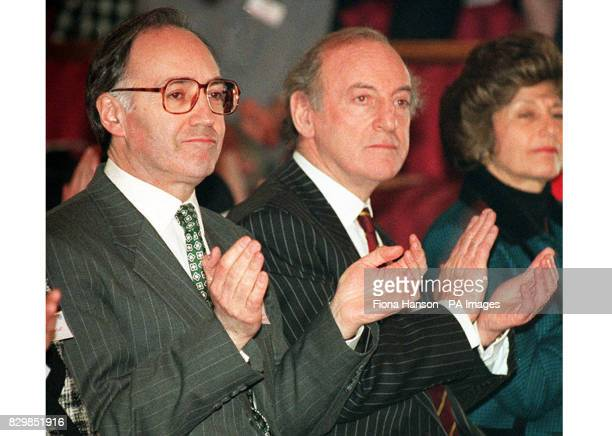 Lord Chief Justice Lord Taylor of Gosforth at an award ceremony with Home Secretary Michael Howard * It was announced by Downing Street that Lord...