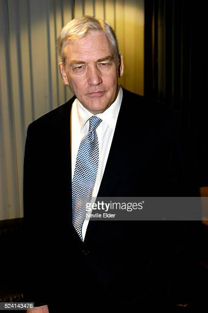 Lord Conrad Black attends a debate and signing for his new book 'Franklin Delano Roosevelt Champion of Freedom' Lord Black owns Britain's Daily and...