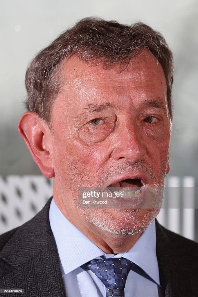 Lord <a gi-track='captionPersonalityLinkClicked' href=/galleries/search?phrase=David+Blunkett&family=editorial&specificpeople=167280 ng-click='$event.stopPropagation()'>David Blunkett</a> speaks to members of the press during a press conference at the Royal Festival Hall on May 26, 2016 in London, England. Labour's Former Home Secretary, delivered a speech on the security benefits of staying in the EU.