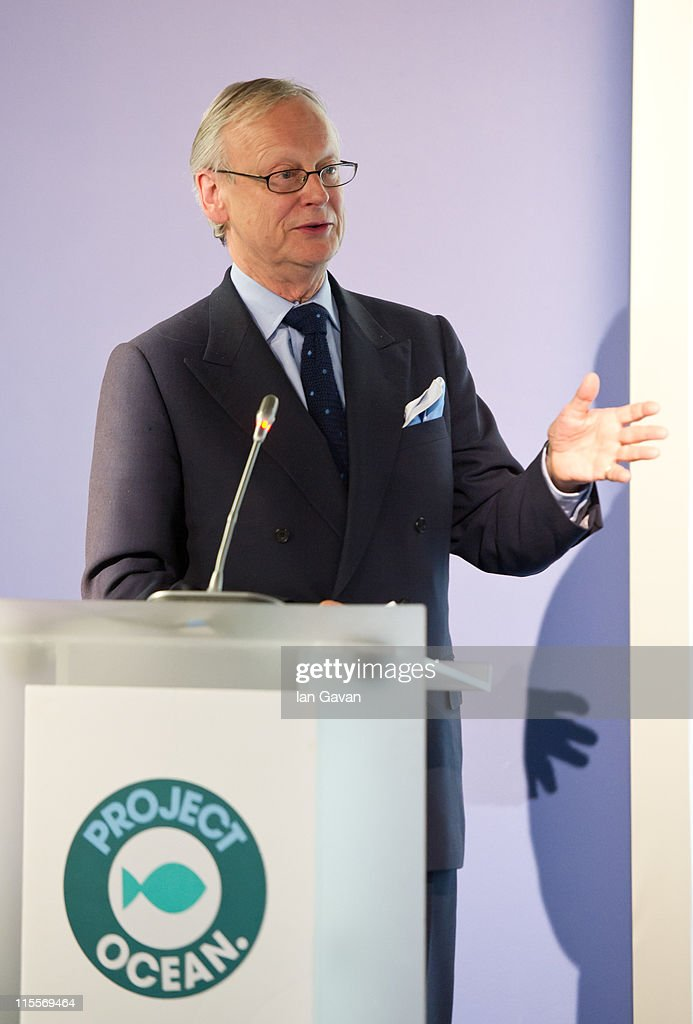Lord Deben speaks during the launch of the 19th World Oceans Day at Selfridges Ultralounge on June 8, 2011 in London, England. World Oceans Day is held for the first time at Selfridges and will be attended by members of Parliament from across the European Union.
