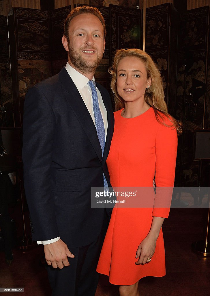 Lord Edward Spencer-Churchill and Lady <a gi-track='captionPersonalityLinkClicked' href=/galleries/search?phrase=Alexandra+Spencer-Churchill&family=editorial&specificpeople=235362 ng-click='$event.stopPropagation()'>Alexandra Spencer-Churchill</a> attend as Christian Dior showcases its spring summer 2017 cruise collection at Blenheim Palace on May 31, 2016 in Woodstock, England.