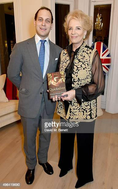 Lord Frederick Windsor and Princess Michael of Kent attend the launch of 'Quicksilver' by HRH Princess Michael of Kent the final volume of the Anjou...